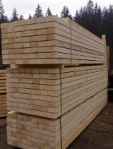 Softwood  Sawn Timber - Lumber Turkey - AD Spruce Timber, 45 x 95 mm, C16 Quality