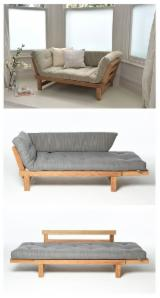 Modern Designed Wooden Sofa Frame with Optional Wood from Vietnam Supplier