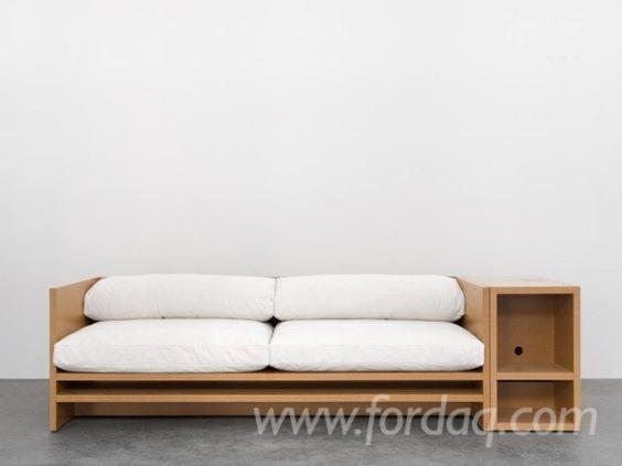 Modern Designed Wooden Sofa