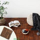 Wooden Patio Deck Tiles for Outdoor Space