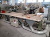 Stromab Woodworking Machinery - Radial saw at 2 heads STROMAB model RSD110 at CE norms