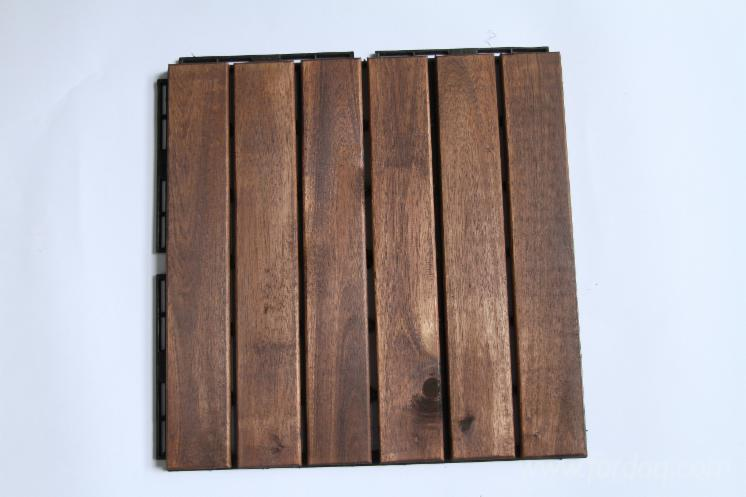 Interlocking Floor Tiles, DIY, Easy Fit Balcony, Patio, Garden