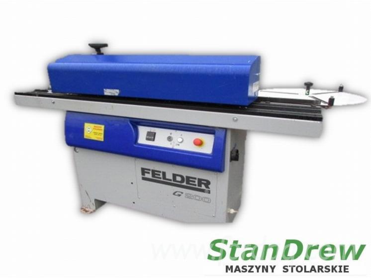 Gebraucht-FELDER-G-200-2008-Kantenanleimmaschinen-Zu-Verkaufen