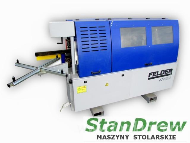 Gebraucht-FELDER-G500-2009-Kantenanleimmaschinen-Zu-Verkaufen