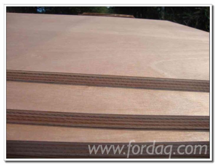 Natursperrholz--Lauan