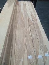 天然木皮单板, 白蜡树 , 平切,平坦