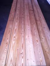 地板及户外板材 欧洲 - 松枝, 西伯利亚落叶松, 欧盟认证, 装饰(四面倒角)
