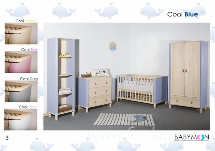Eco Friendly Solid Wood Nursery Furniture