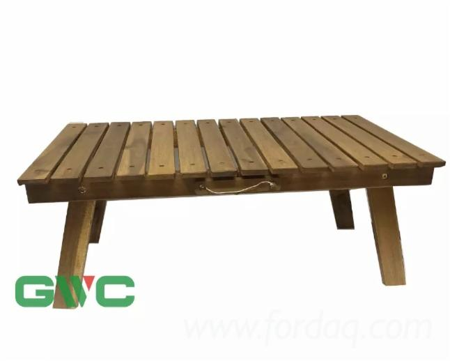High Quality Acacia Wood Folding Table 2019 Style