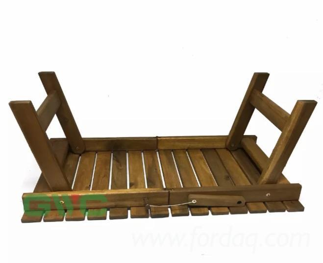 High Quality Acacia Wood Folding Table 2019 Style