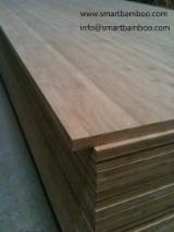 Platten Und Furnier - FSC Bambus 12+ mm Durchgehende Lamellen Asiatisches Laubholz 3-Schicht-Massivholzplatte China zu Verkaufen