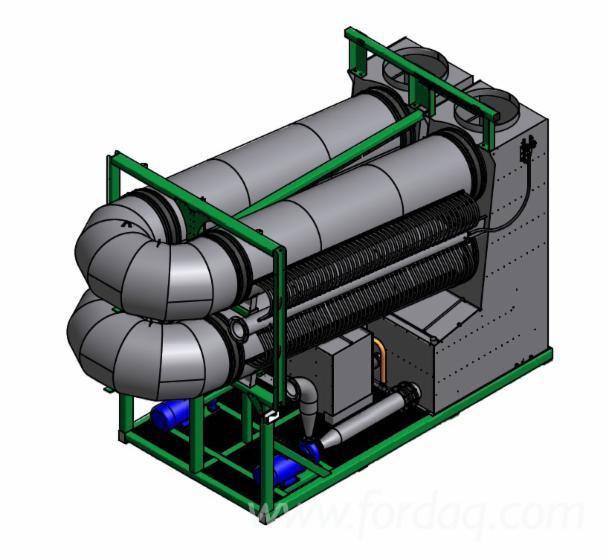 Flue gas condensation plant 4,5MW