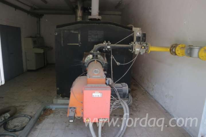 Thermal power plant CARBOFUEL TRP 1750 gas boiler