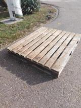 Wood Pallets - Recycled - Used In Good State Industrial Crates Serbia