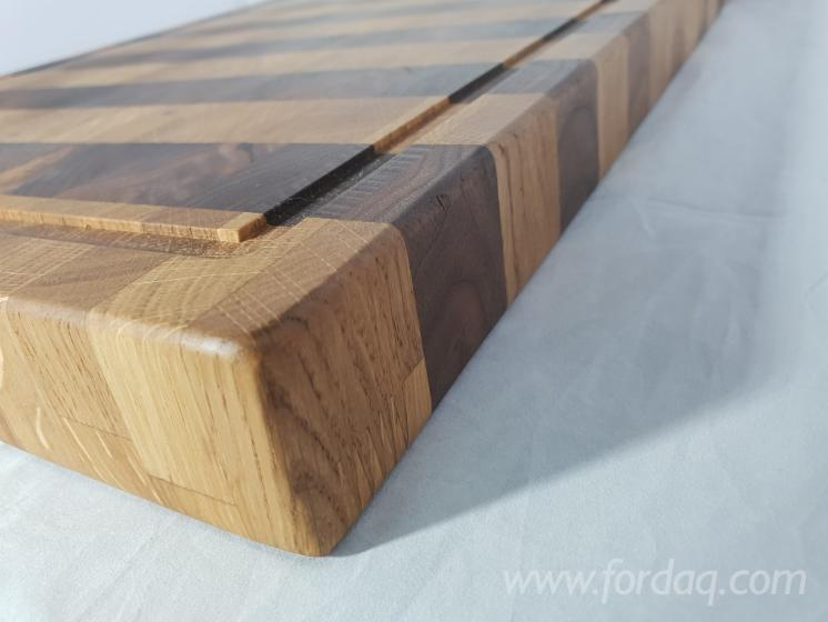 Endgrain Turkish Oak/ Walnut Cutting Boards