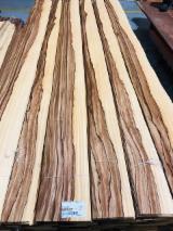 Sliced Veneer FSC - Natural Veneer, Ako , Rifted