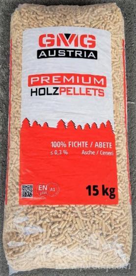 ENplus Fir Wood Pellets, 6 mm
