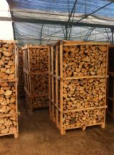 Energie- Und Feuerholz Luftgetrocknet 24 Monate - Buche, Eiche Brennholz Gespalten