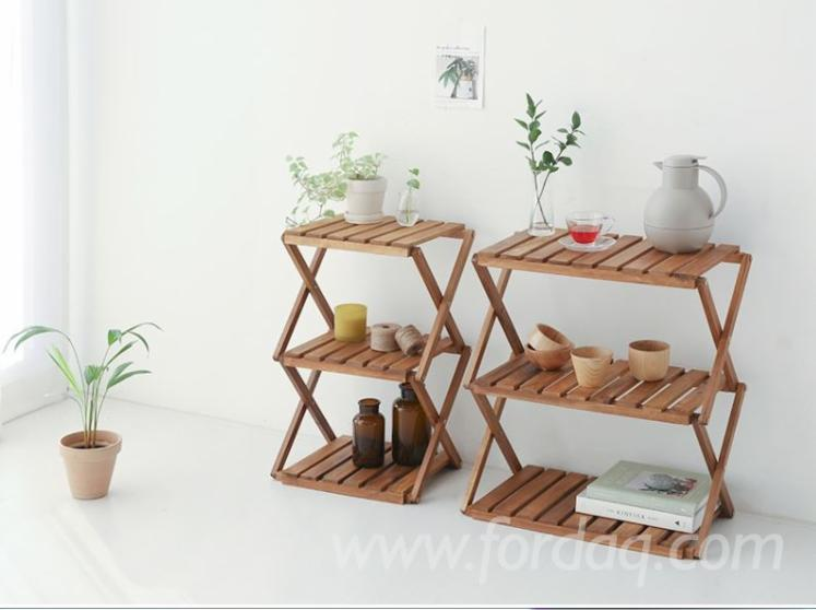 Vietnam Standing Style Rectangle Rack with 3-Tiers