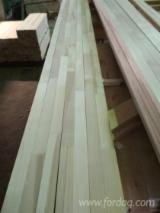 Wood Components, Mouldings, Doors & Windows, Houses - Birch Finger-Joined Elements Russia