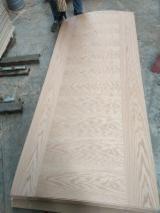 Flush Design, Natural Oak Veneer Faced HDF Door Skin