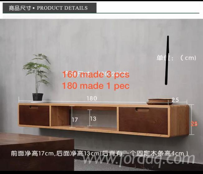 High Quality Wooden Display Cabinet with Modern Design from Vietnam