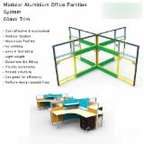 Aluminium Office Furniture And Home Office Furniture - Modular Aluminium Office Partition System, 60mm Trim
