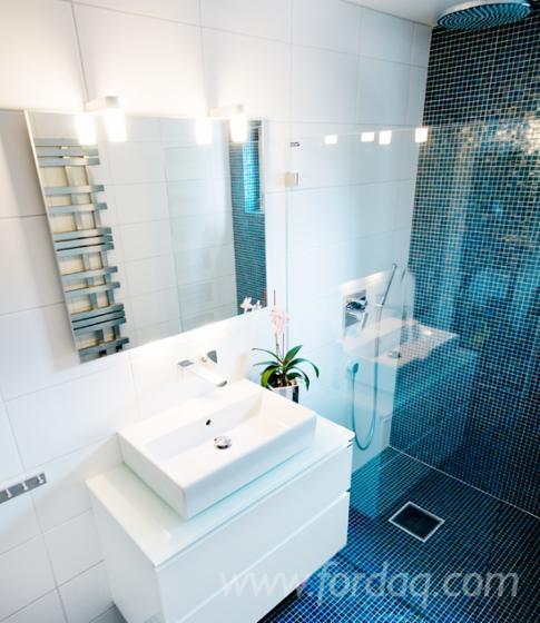 Blue/ Black Bathroom Sets with Installation