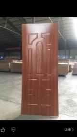 920x2050x3mm White Melamine HDF Door Skin