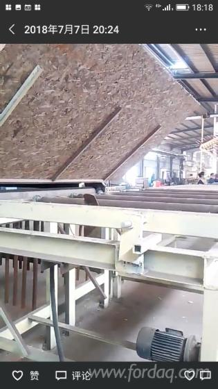 OSB-production-line-multi-layer-press-OSB-production-line-wood-based-panel-making-machines-green