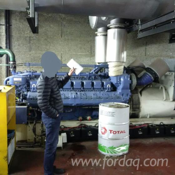 Used-Generator-1998-Generation-Of-Energy-And-Heating-Using-Wood-Fuels---Other-For-Sale