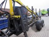 Forest & Harvesting Equipment - HYDRO self-loading trailer for transporting timber