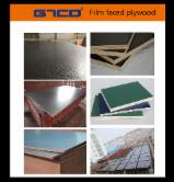 Plywood Panels - Black film faced marine plywood board/ Film laminated shuttering construction formwork
