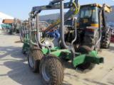 Forest & Harvesting Equipment - FARMA wood self-loading trailer