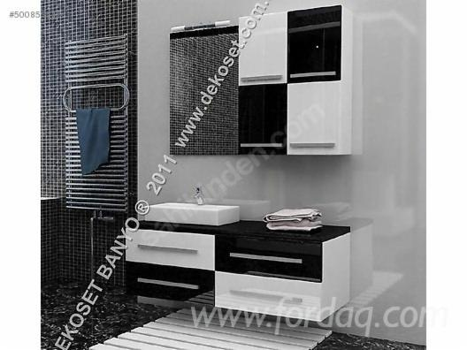 Black-White Luxury Bathroom Cabinet