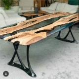 Turkey Dining Room Furniture - Epoxy Dining Table, Beech/ Oak