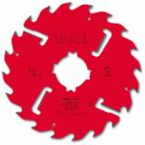 HW - Shoulder thick kerf saw blades with rakers
