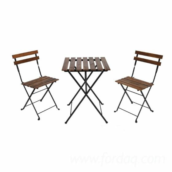 Garden Furniture Tarno Set/Bistro Set with Table and 2 Chairs