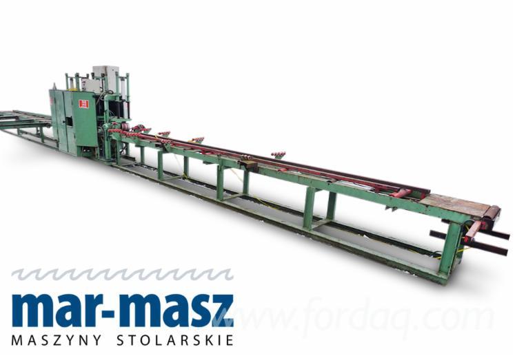 HUNDEGGER-bale-planer--wet-wood-planer--conveyor-belt