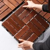 High Quality Balcony Deck Tiles/ Wholesale Price Interlocking Wood Floor Tiles