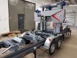Log Band saws mobile , Horizontal , Sawmill , Trak Taśmowy TTP-600 Premium mobilny TRAK-MET Nowy