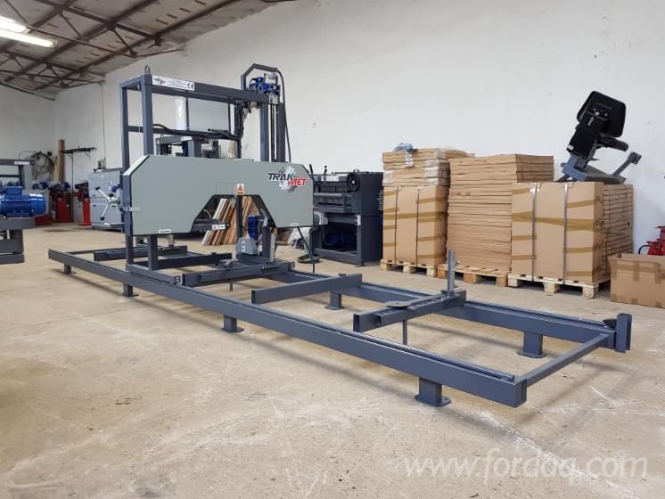 Vender-Serra-Horizontal-Para-Corte-De-Troncos-Trak-Met-TTP-600-ECO-Novo