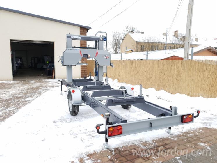 New-Trak-Met-TTP-600-MOBILNY-STANDARD-Mobile-Log-Saws-For-Sale