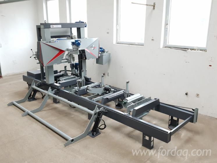 Log-Band-Saws-Hydraulic--Horizontal-TRAK-MET----Sawmill-