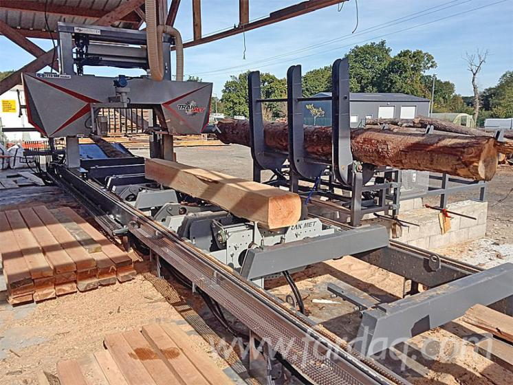 New Trak-Met TTS-1200 BIG Log Band Saw Horizontal For Sale Poland