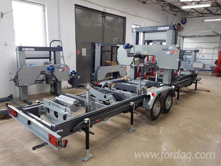 New-Trak-Met-TTP-600-STANDARD-MOBILE-Mobile-Log-Saws-For-Sale