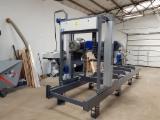Log Band Saws , Horizontal , Sawmill , Trak Taśmowy TTP-600 Standard Wzmocniony , TRAK MET