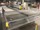 LIGMATECH Woodworking Machinery - Used 2001 LIGMATECH ZHR 01 BOOMERANG Infeed and Outfeed Units