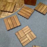 Acacia Garden Deck Tiles (Anti-Slip), 19x300x300 mm