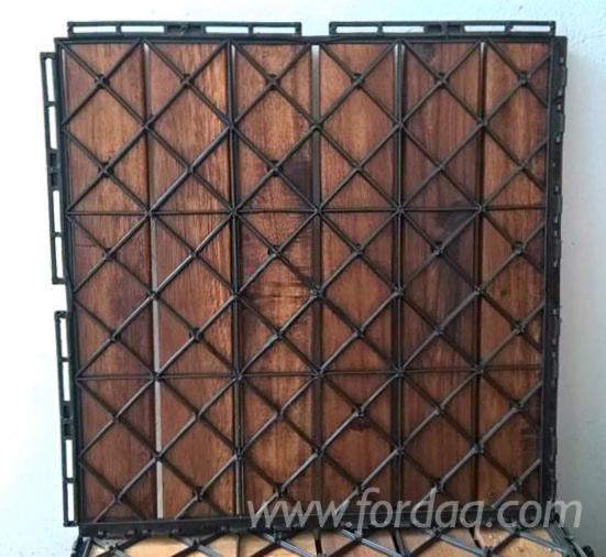Vend Lame De Terrasse (1 Face Rainurée) Acacia FSC Vietnam